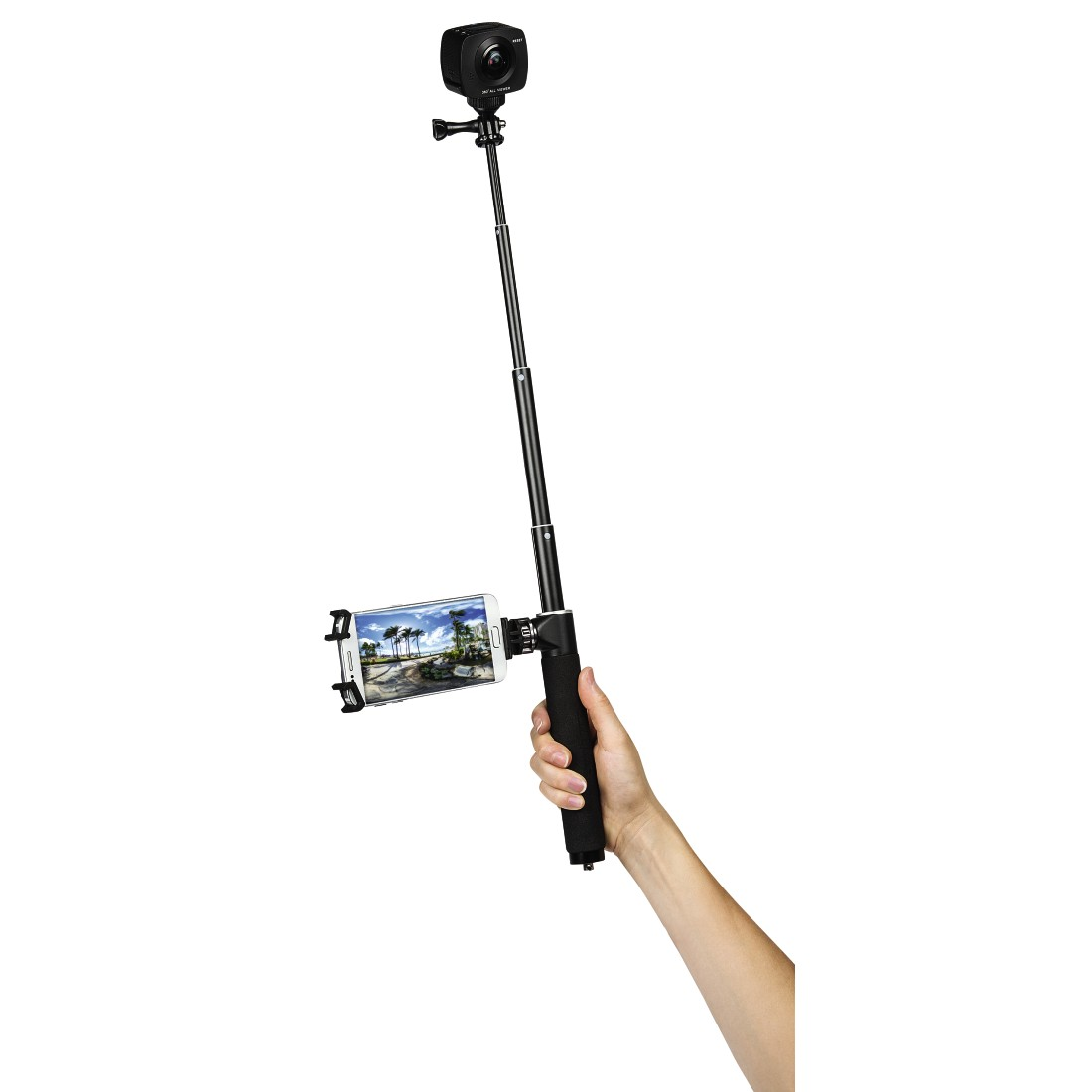 "awx High-Res Appliance - Hama, Zelf-monopod ""Selfie 100 Panorama"""