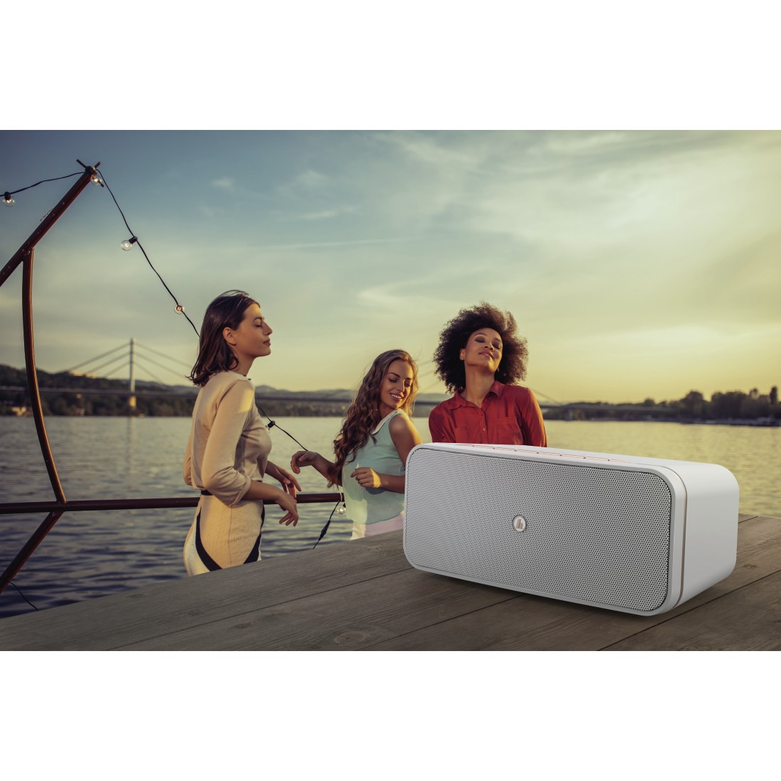 "awx High-Res Appliance - Hama, Smart-speaker ""SIRIUM1000ABT"", Alexa/Bluetooth®, wit"