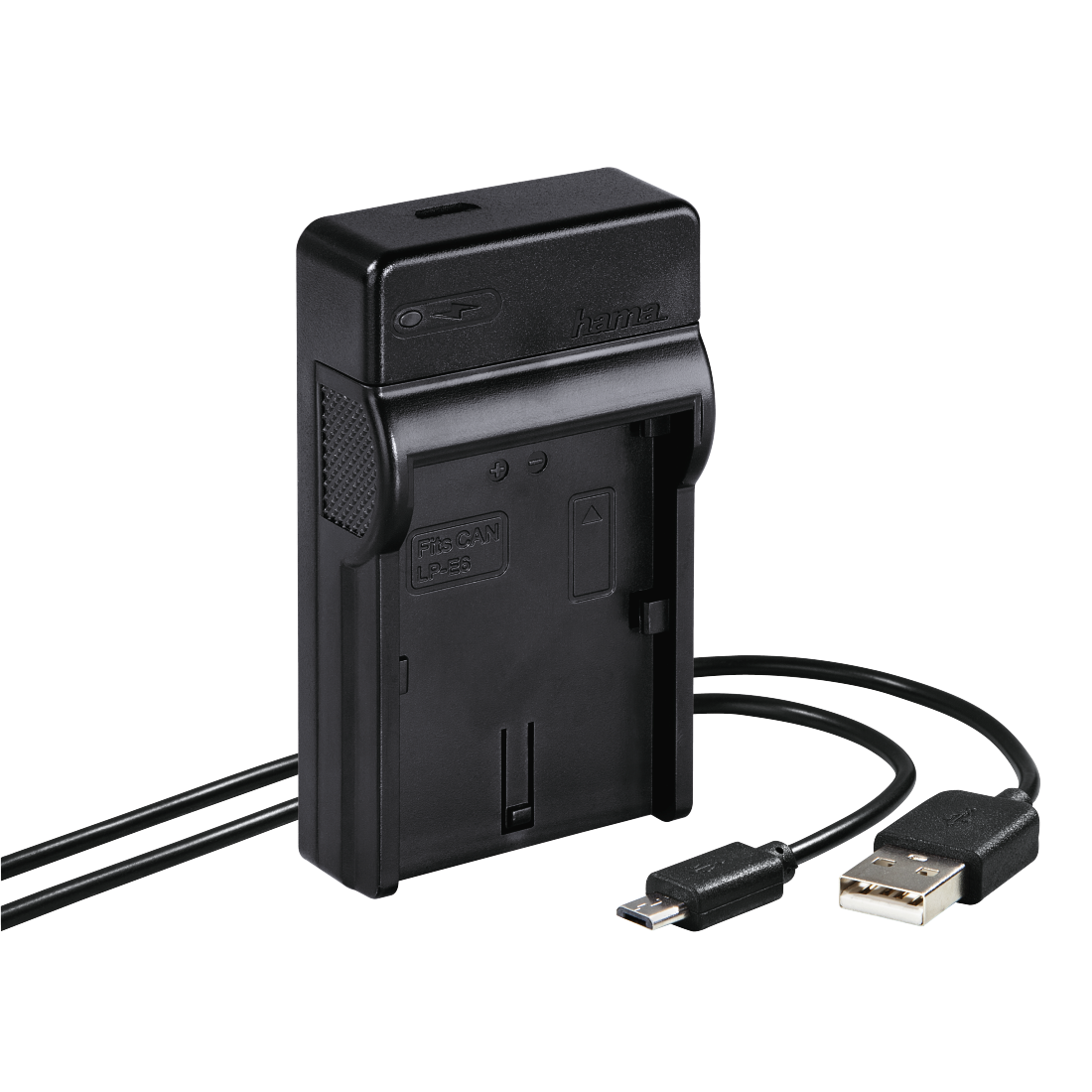 "abx High-Res Image - Hama, USB-oplader ""Travel"" voor Canon LP-E6"