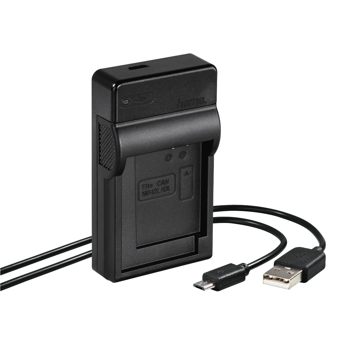 abx High-Res Image - Hama, USB lader voor Canon NB-12L/13L