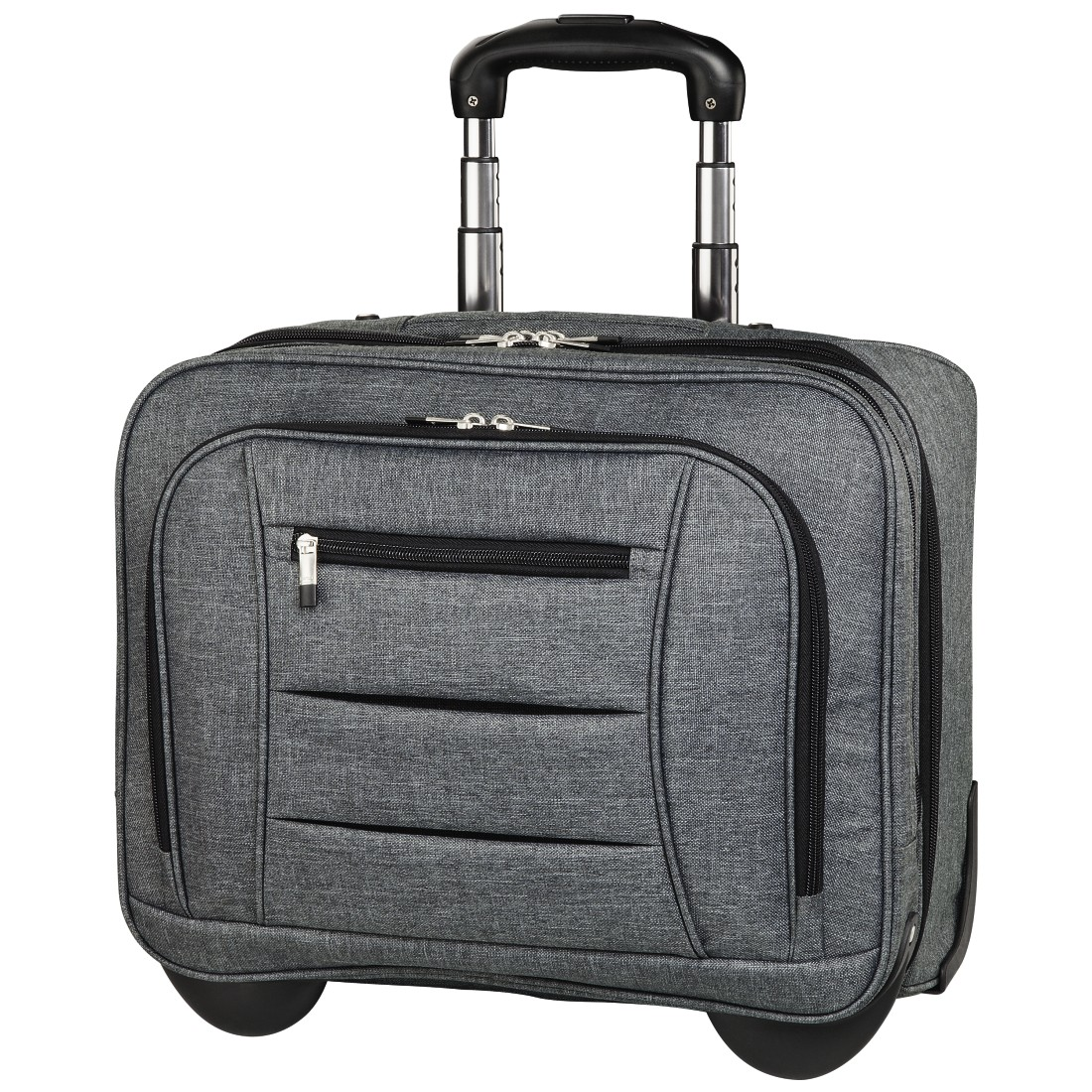 "abx High-Res Image - Hama, Notebook-trolley ""Business"", tot 40 cm (15,6""), grijs"