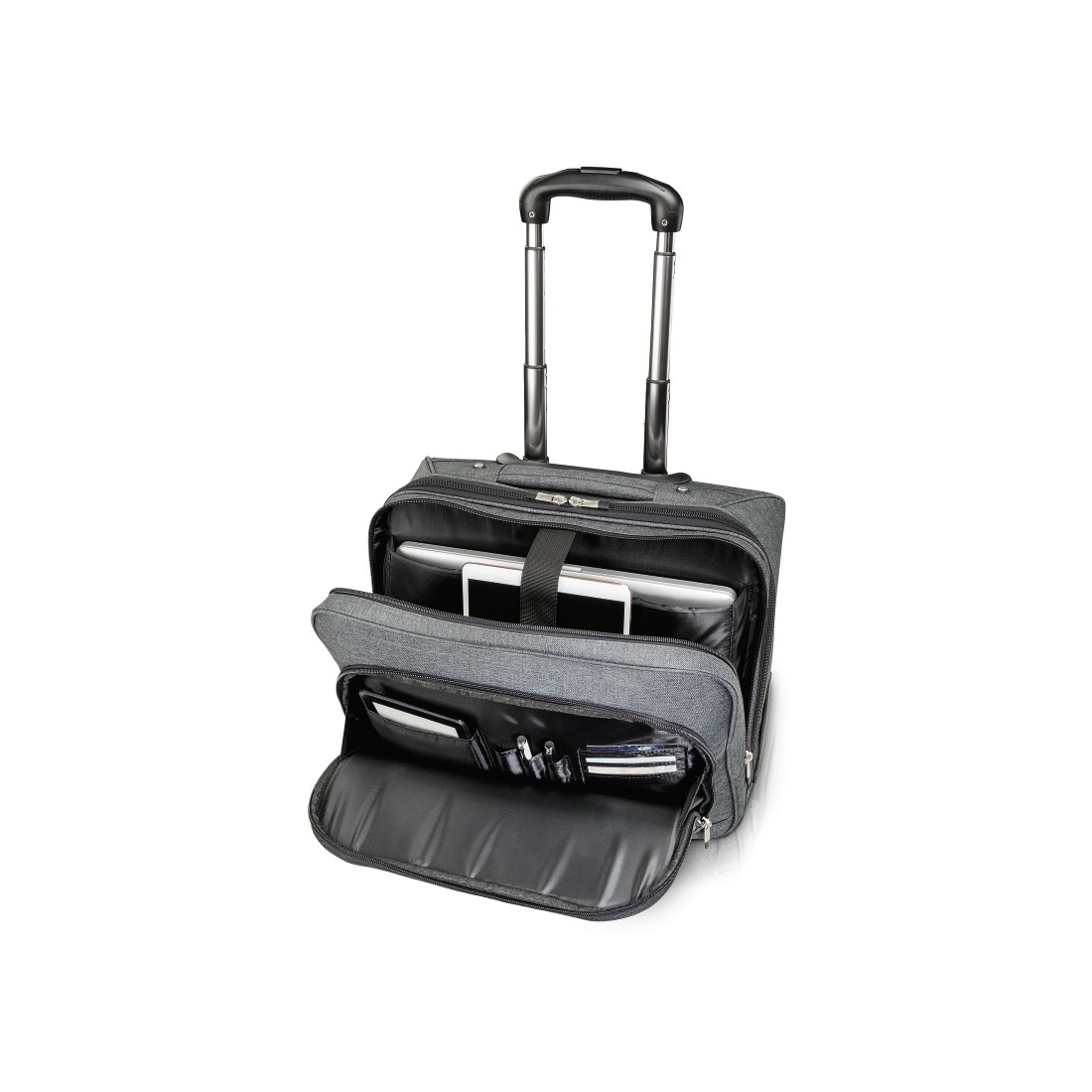 "abx2 High-Res Image 2 - Hama, Notebook-trolley ""Business"", tot 40 cm (15,6""), grijs"