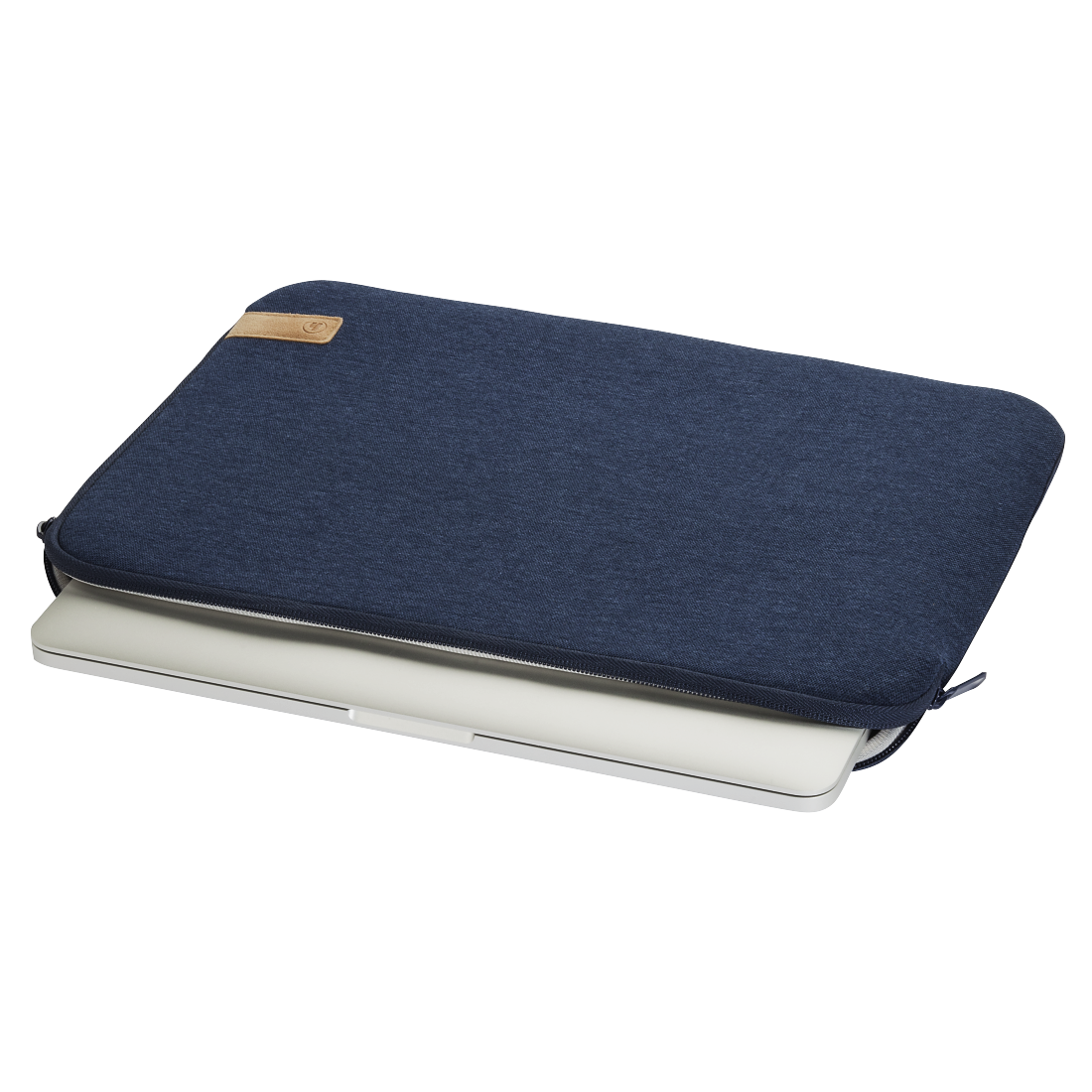 "abx3 High-Res Image 3 - Hama, Notebook-sleeve ""Jersey"", tot 30 cm (11,6""), blauw"