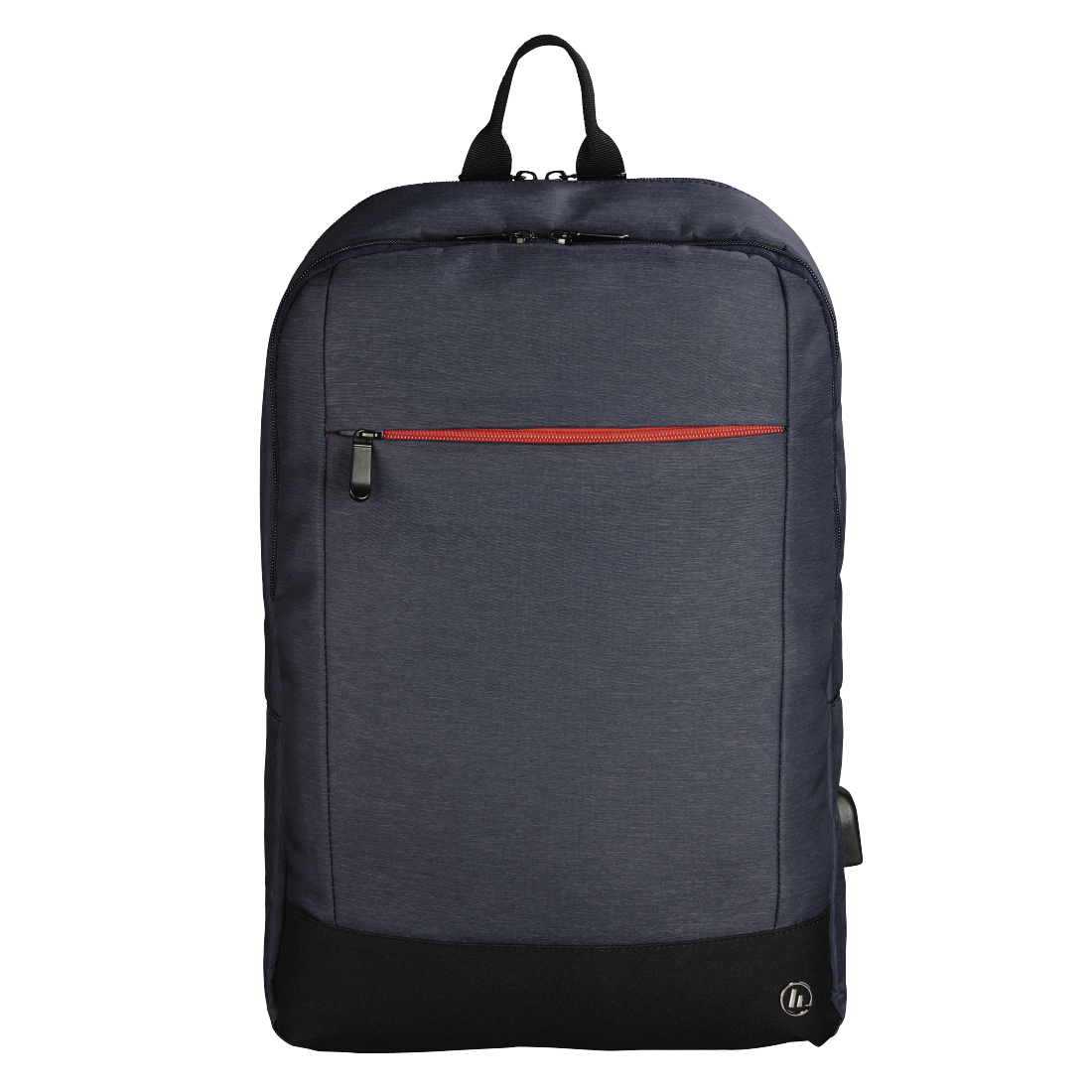 "abx High-Res Image - Hama, Notebook-rugzak ""Manchester"", tot 40 cm (15,6""), blauw"