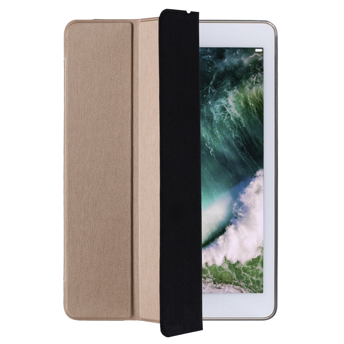 "abx High-Res Image - Hama, Tablet-case ""Fold Clear"" voor Apple iPad 9.7 (2017/2018), roségoud"