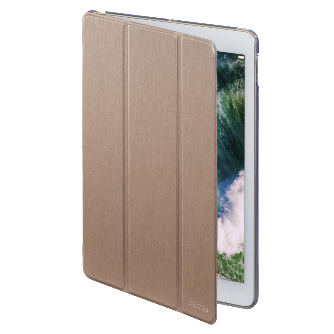 "abx2 High-Res Image 2 - Hama, Tablet-case ""Fold Clear"" voor Apple iPad 9.7 (2017/2018), roségoud"