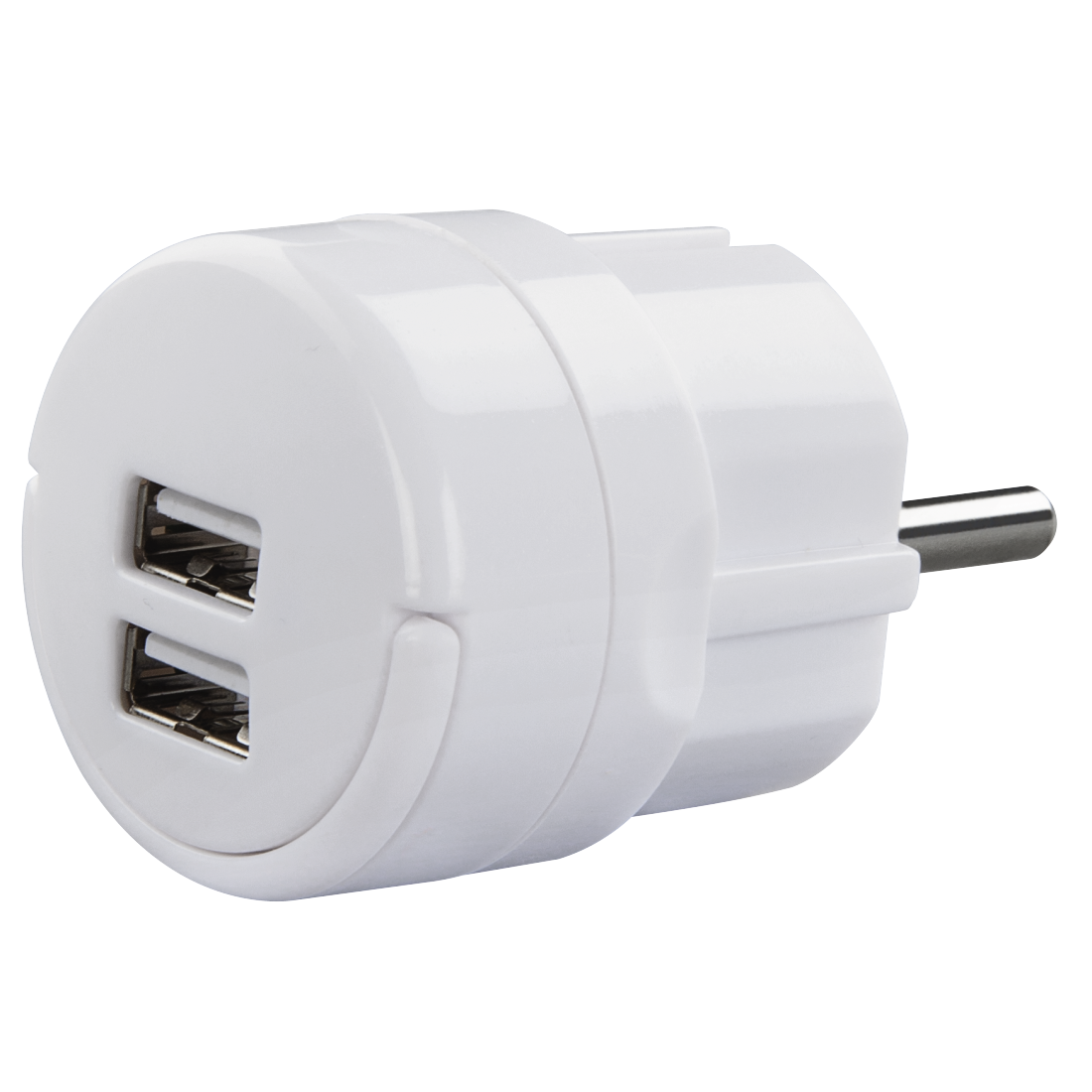 abx High-Res Image - Hama, USB-adapter, 2,1A, 2 uitgangen