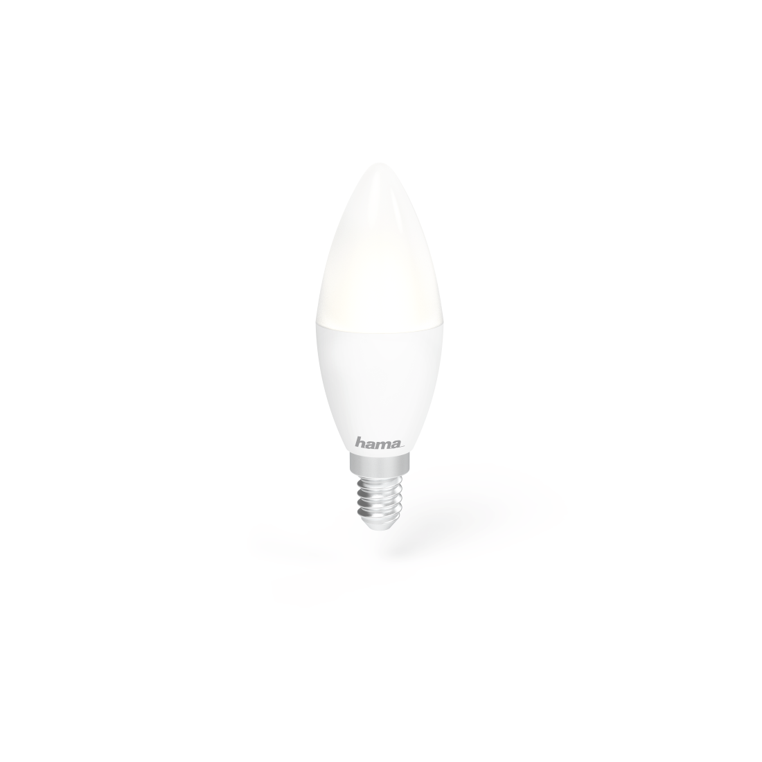 abx High-Res Image - Hama, Wifi-ledlamp, E14, 4,5W, wit, dimbaar