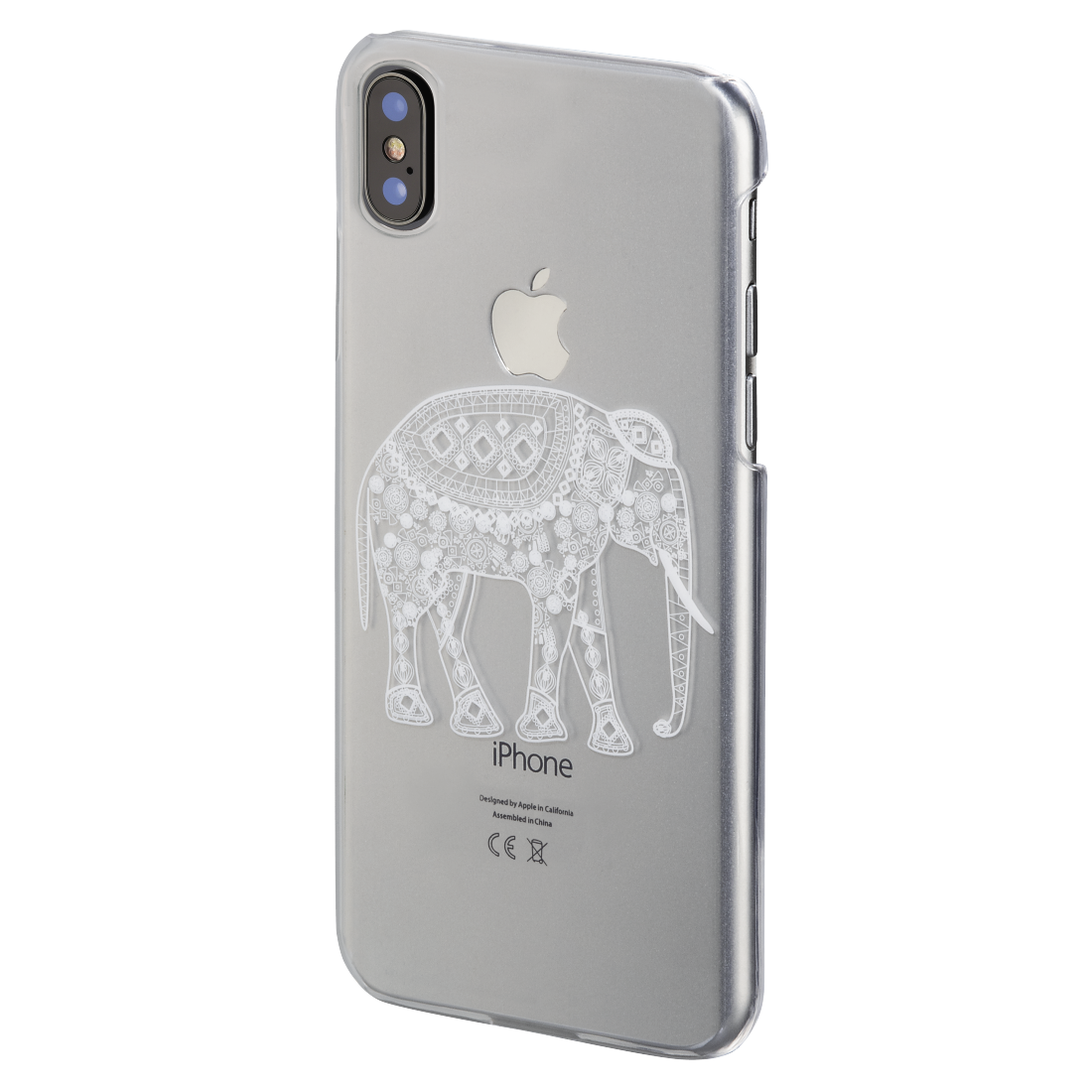 abx High-Res Image - Hama, Cover Hathi iPhone X transparant
