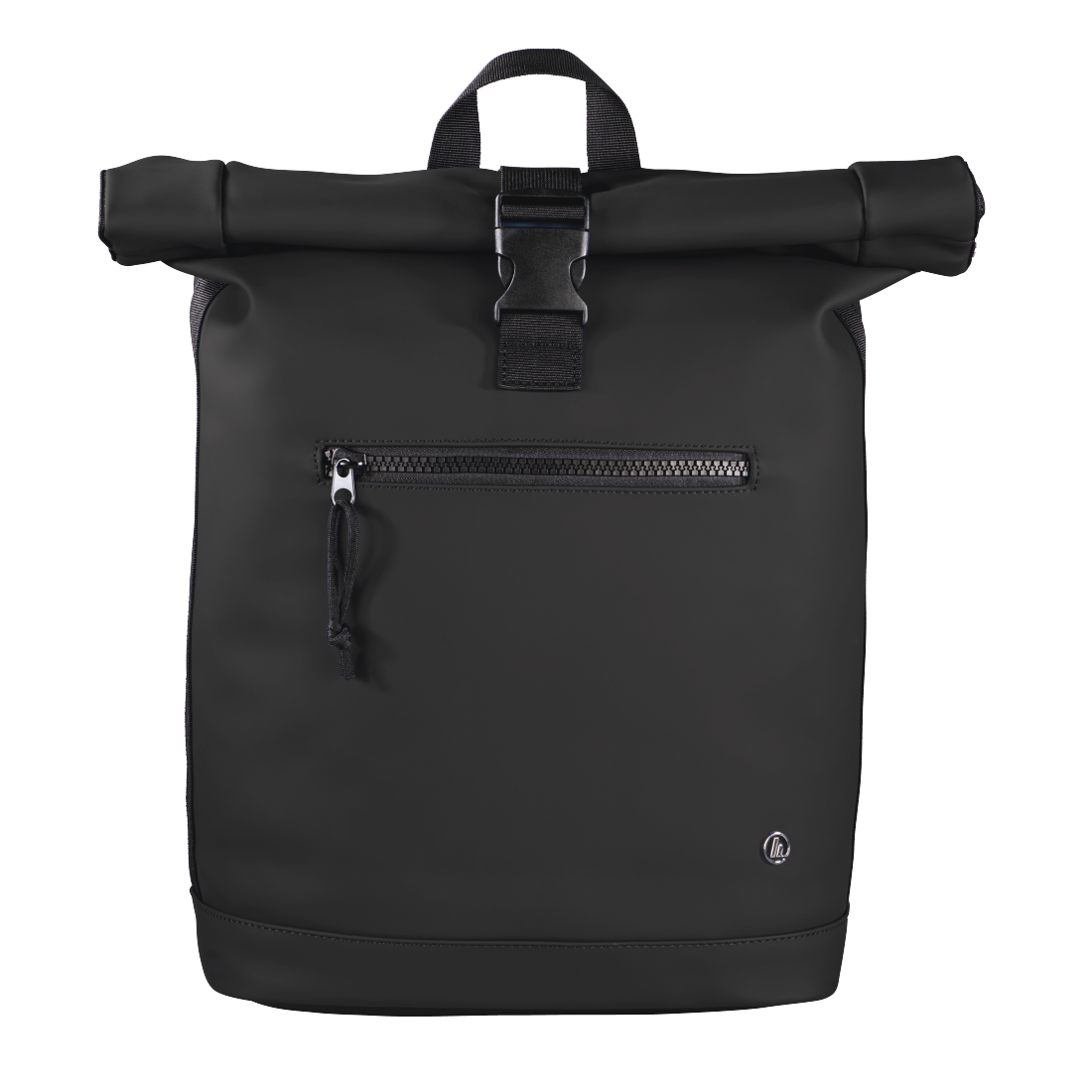 "abx High-Res Image - Hama, Notebook-rugzak ""Merida"", Roll-Top, tot 40 cm (15,6""), zwart"