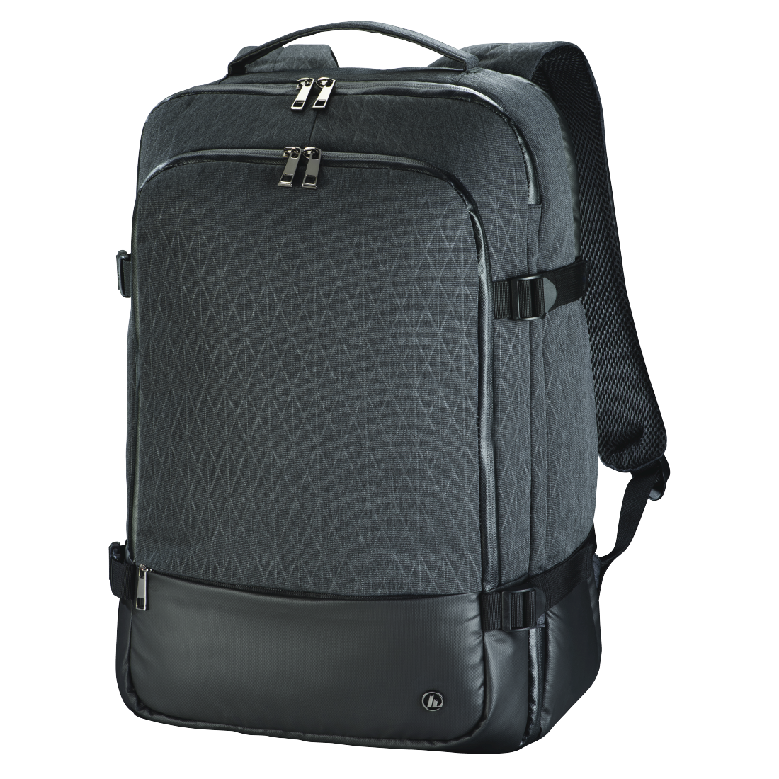 "abx High-Res Image - Hama, Notebook-rugzak ""Day Trip Traveller"", tot 40 cm (15,6""), grijs"