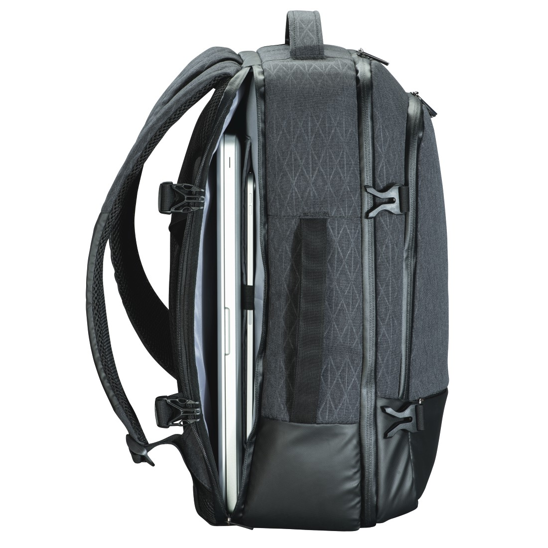 "abx5 High-Res Image 5 - Hama, Notebook-rugzak ""Day Trip Traveller"", tot 40 cm (15,6""), grijs"