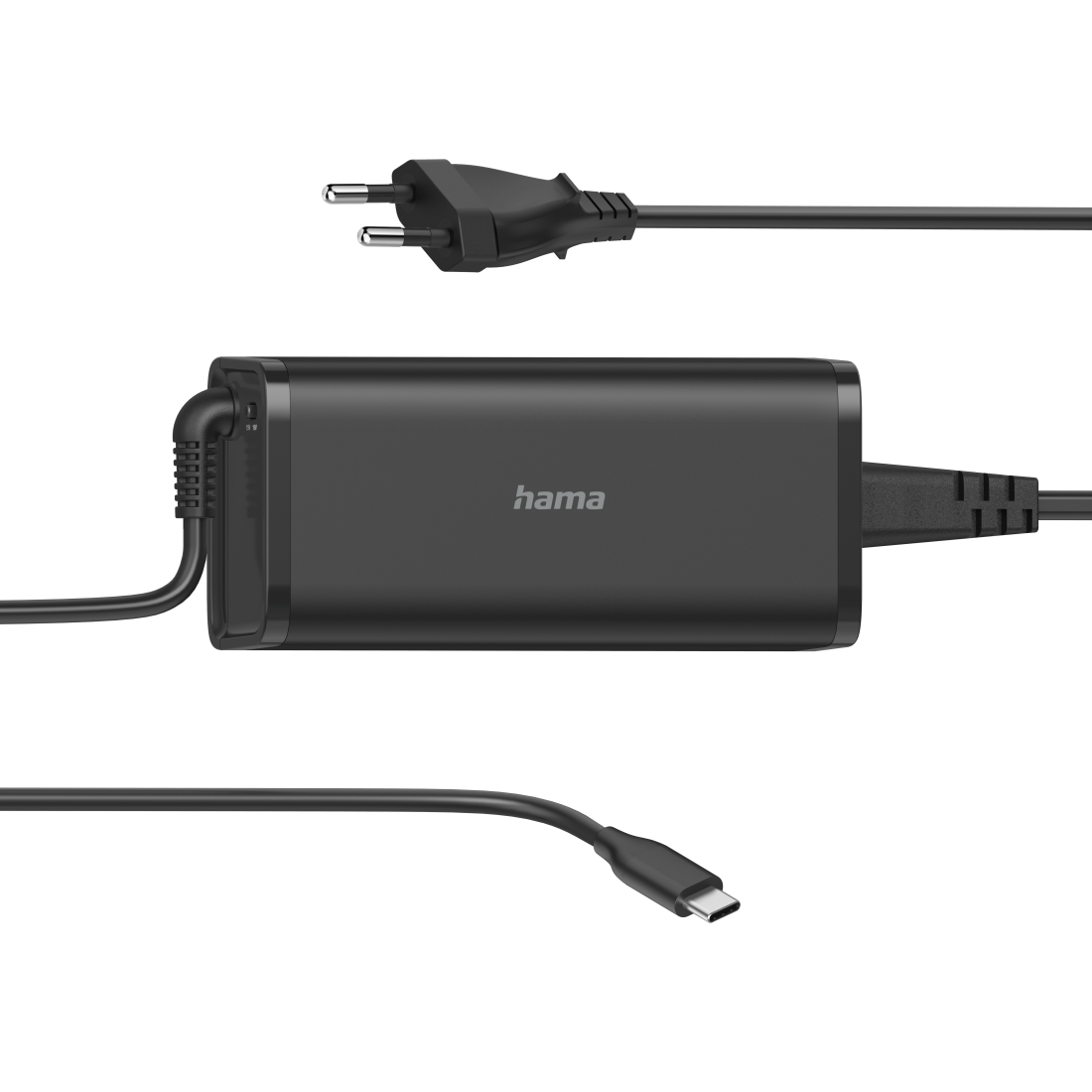 abx High-Res Image - Hama, Universele USB-C-notebook-netadapter, Power Delivery (PD), 5-20V/92W